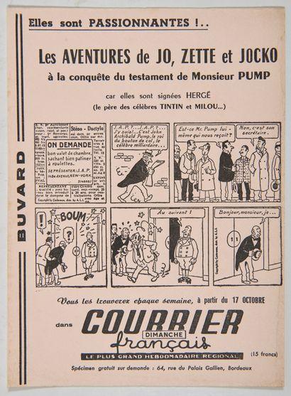 Courrier Français - Ancien buvard: Rare...