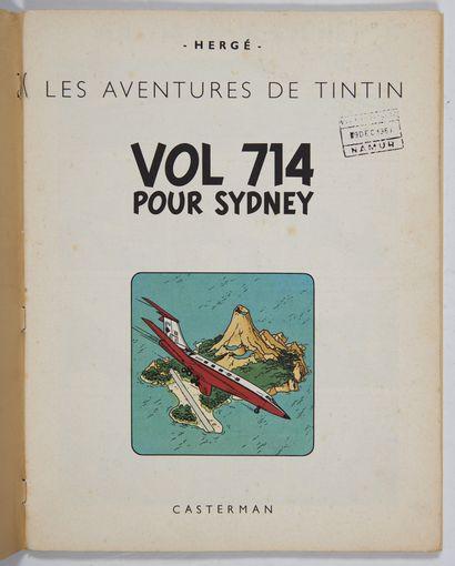Vol 714 pour Sydney - Exemplaire de représentant:...