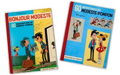 Modeste et Pompon 1 et 2: Editions originales...