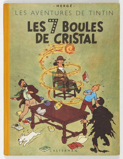 Tintin - Les 7 boules de cristal: Edition...