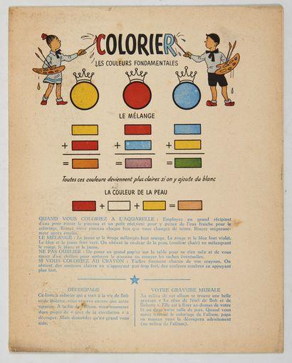 Bob et Bobette - Livre à colorier: Intérieur...