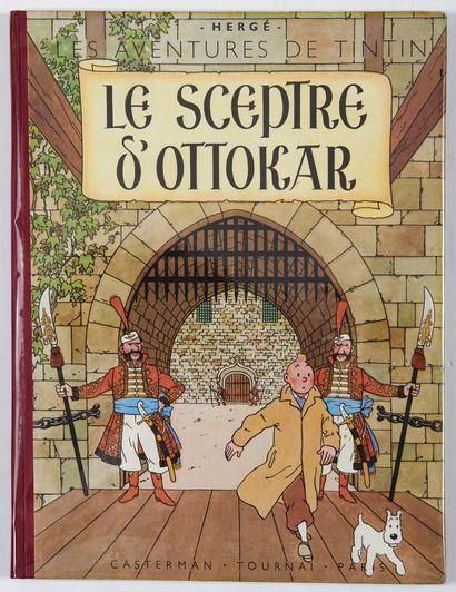 Tintin - Le sceptre d'Ottokar: Edition originale...
