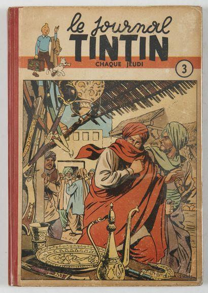 Tintin - reliure éditeur belge 3: Ensemble...
