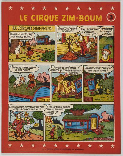 Cirque Zim-Boum 3: Edition originale brochée...