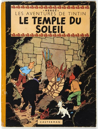Tintin - Le temple du soleil: Edition originale...