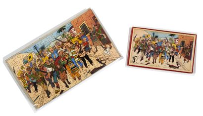 Tintin - Puzzle L'oreille cassée: Rare puzzle...