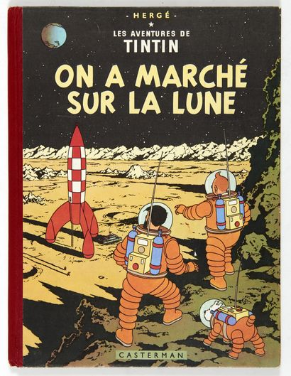 Tintin - On a marché sur la lune: Edition...
