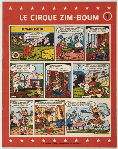 Cirque Zim-Boum 1: Edition originale brochée...