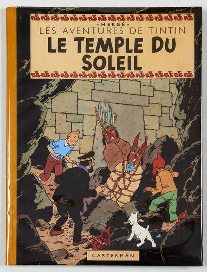 Tintin - Le temple du soleil: Edition Casterman...