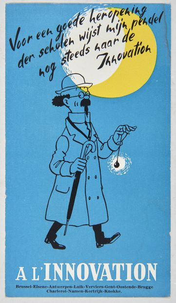 Tintin - A l'Innovation!: Rare publicité...