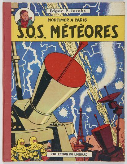 Blake et Mortimer - Sos météores: Edition...