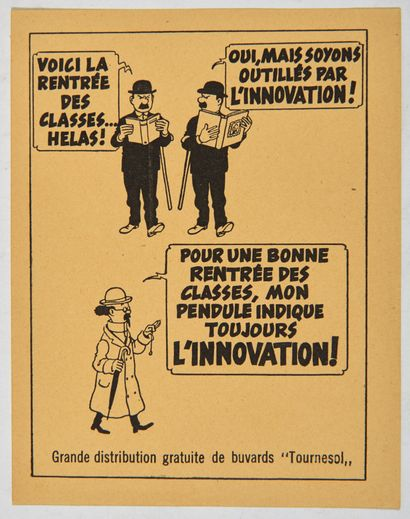 Tintin - Voici la rentrée des classes!:...