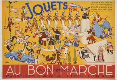 Tintin - Catalogue Au Bon Marché 1936: Magnifique...