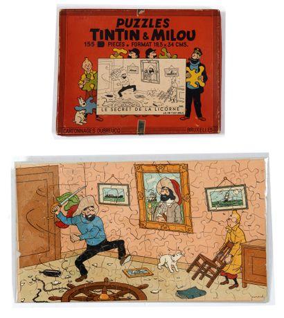 Tintin - Puzzle Dubreucq Le secret de la...
