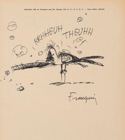 Franquin - dédicace: