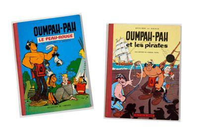 Oumpah-pah - Ensemble de 2 albums: Le peau-rouge...