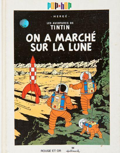 Tintin - Pop-Hop On a marché sur la lune:...