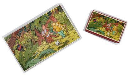 Tintin - Puzzle Le temple du soleil: Superbe...