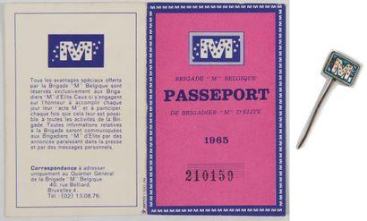 Brigade M: Ensemble composé du passeport...