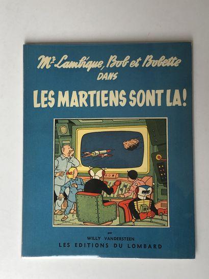 Bob et Bobette - Les martiens sont là: Edition...