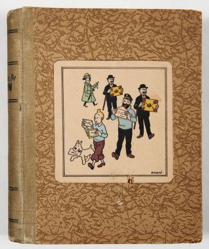 Tintin - Papier à lettre Pelletier: Ancien...