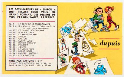 Spirou - Catalogue: Petit folio publicitaire...