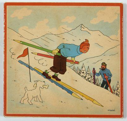 Tintin - Boîte de crayons des années 50 (Germany):...