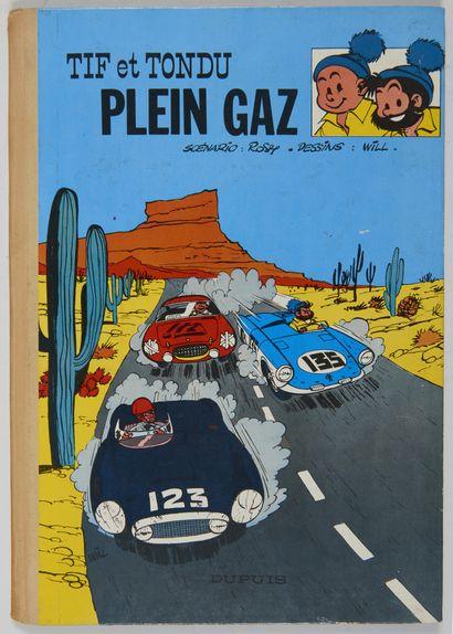 Tif et Tondu - Plein gaz: Edition originale...