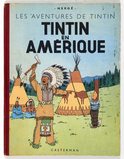 Tintin - En Amérique: Edition originale...