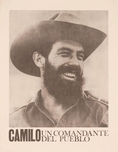 PROPAGANDE CUBAINE. Camilo Cienfuegos un...