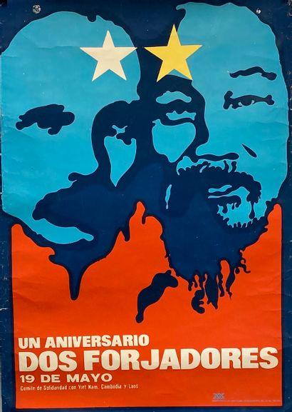 PROPAGANDE CUBAINE. Un Aniversario dos Forjadores...