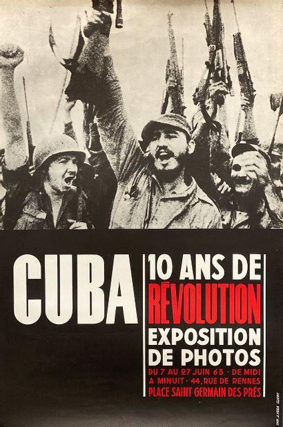EXPOSITION. Cuba 10 ans de révolution. Exposition...