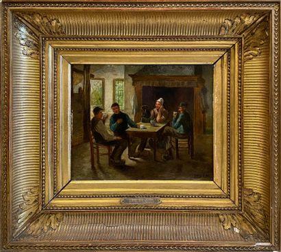 David De La MAR (1832-1898) - attribué à...