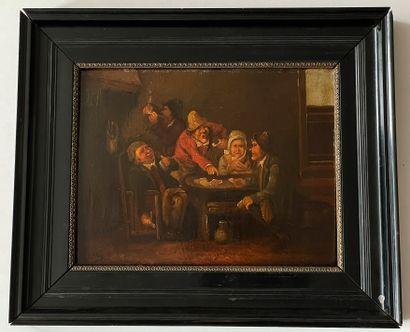 Ecole flamande du XVIIe siècle (dans le...