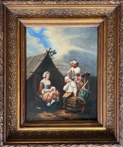 Louis Albert BACLER D'ALBE (1761-1848) (attribué...