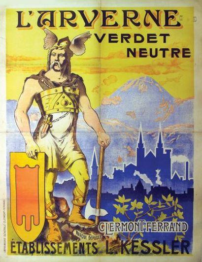 Clermont-Ferrand (Puy-de-Dôme) L'Arverne...