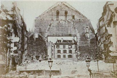 LA COMMUNE « Album des Ruines de Paris»,...
