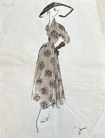31 dessins de Pierre CARDIN pour Marcelle...