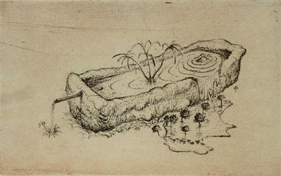 SHIRAISHI Mitsuo Sans titre / Gravure sur papier / Numéroté 1 sur 30 / Signé en bas...