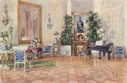 Alexandre Borisovitch SÉRÉBRIAKOFF (Néskoutchnoïé 1907-Paris 1995)