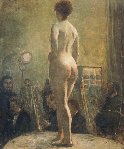 ÉCOLE FRANÇAISE, fin XIXe-début XXe siècle
