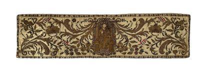 Rare ceinture liturgique, Kiev XVIIe siècle...