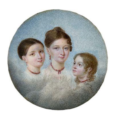 Ecole française, début XIXe siècle