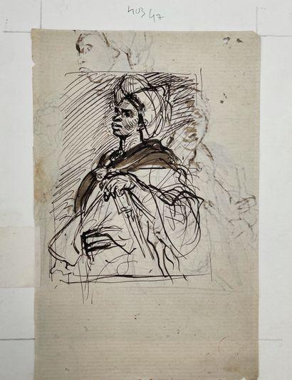 Edme-Alexis-Alfred DEHODENCQ (Paris 1822 - 1882)