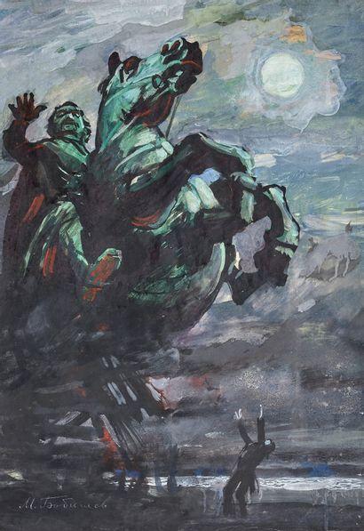 Mikhaïl Pavlovitch BOBYSHEV (1885-1965)