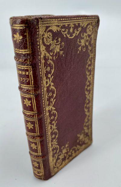 Almanach royal, année 1777, Paris, Le Breton,...