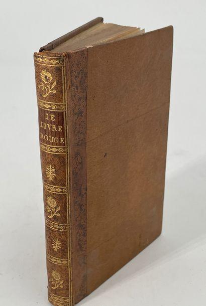 Le Livre Rouge ou notice historique sur le...