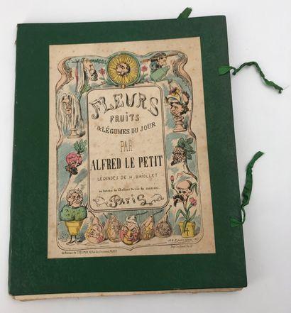 Alfred LE PETIT  Fleurs, fruits & légumes...