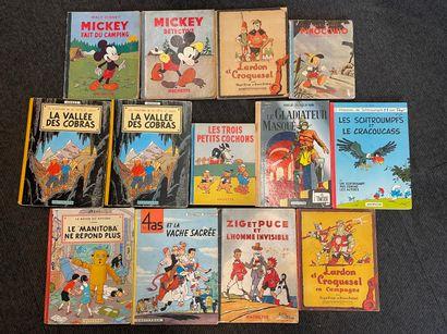 Lot d'albums dont Pinocchio, les trois petits...