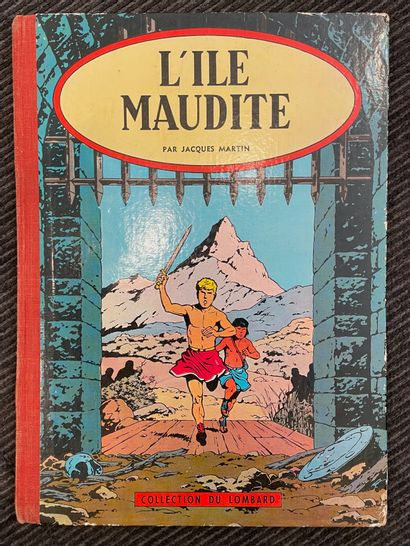 Jacques MARTIN, L'ile Maudite, collection...